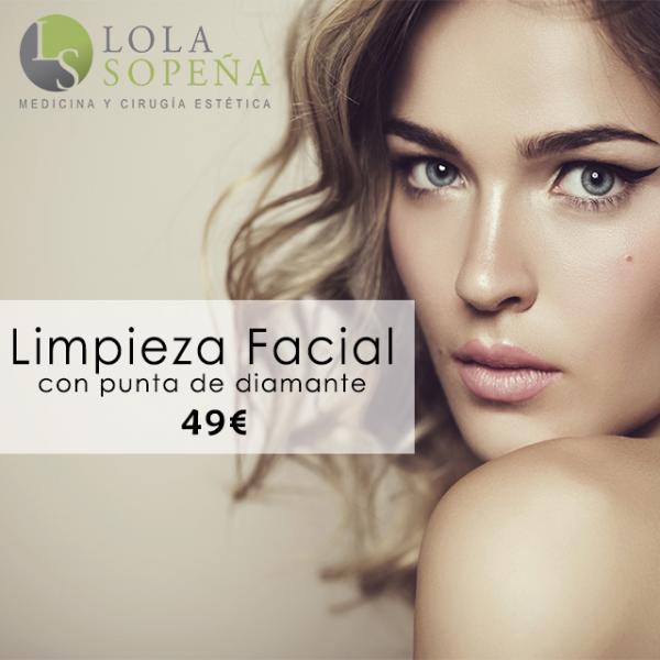 49€ Limpieza Facial con punta de diamante  en TodoEstetica.com