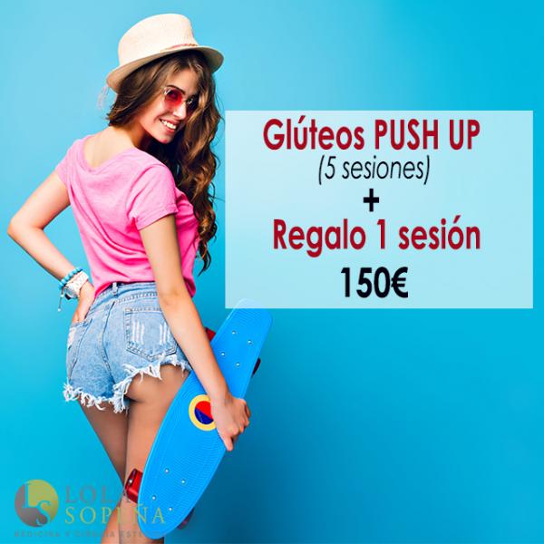 150€ 5 sesiones + regalo 1 sesión de Glúteos Push UP en TodoEstetica.com