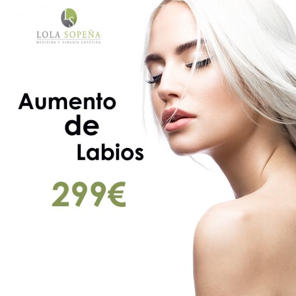 299€ Aumento de labios