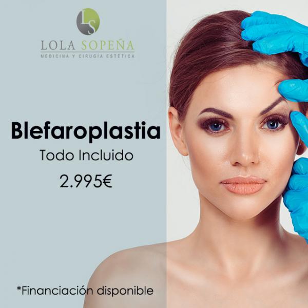 2.995€ Blefaroplastia con Todo Incluido