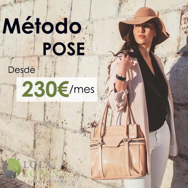 Desde 230€/mes Método Pose Reforzado con Todo Incluido en TodoEstetica.com