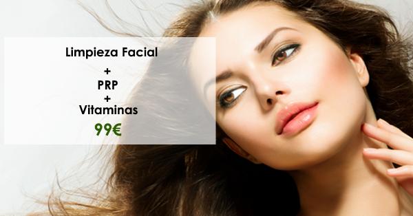 99€ Limpieza Facial + Plasma Rico En Plaquetas + Vitaminas Infiltradas en TodoEstetica.com
