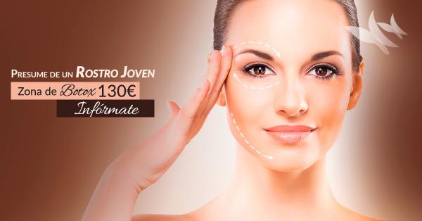 Zona Botox 130€ en TodoEstetica.com