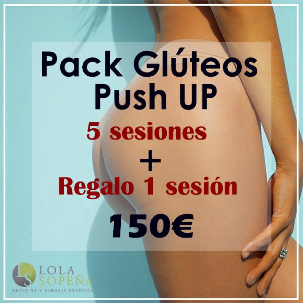 150€ 5 sesiones + regalo 1 sesiones de Glúteos Push UP en TodoEstetica.com