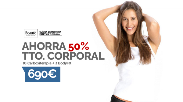 AHORRA 50% TRATAMIENTO CORPORAL