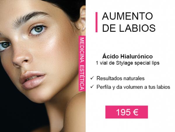 Aumento de labios con Ácido Hialurónico en TodoEstetica.com
