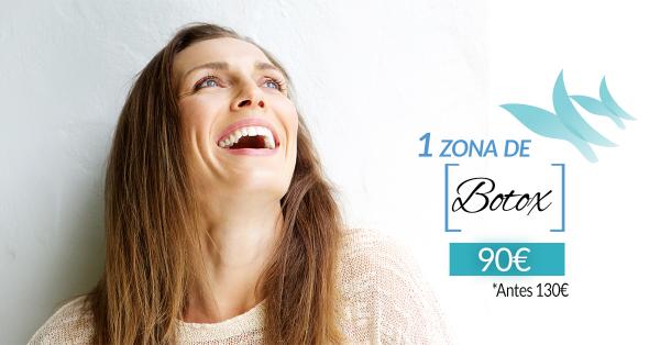 Promoción Zona Botox 90€ en TodoEstetica.com