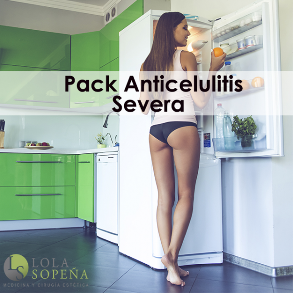 Pack Anticelulitis Severa (5 sesiones) 185€