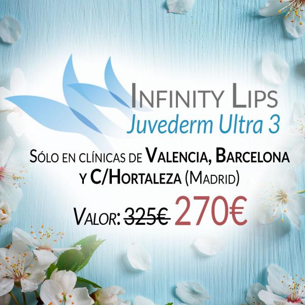 Aumento de labios 270€