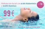 Hidratación profunda con ácido hialurónico y multivitaminas en TodoEstetica.com