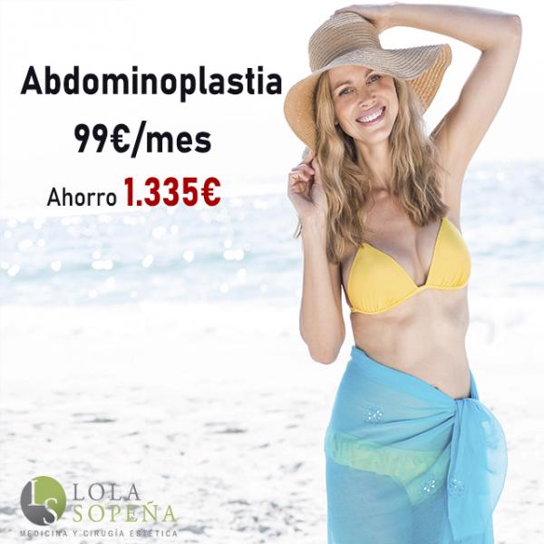 Abdominoplastia desde 99€/mes