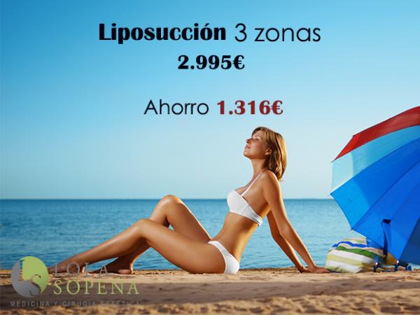 Liposucción 3 zonas desde 64€/mes