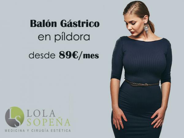 Balón Gástrico en píldora desde 89€/mes