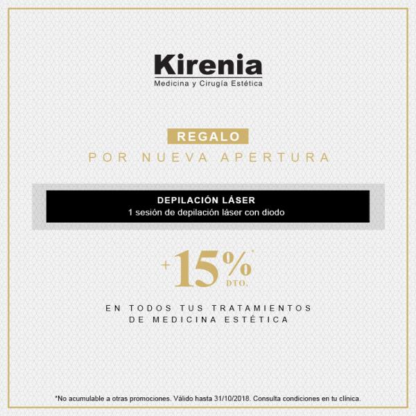 REGALO Depilación Laser Con Diodo +15% de descuento en medicina estética en TodoEstetica.com