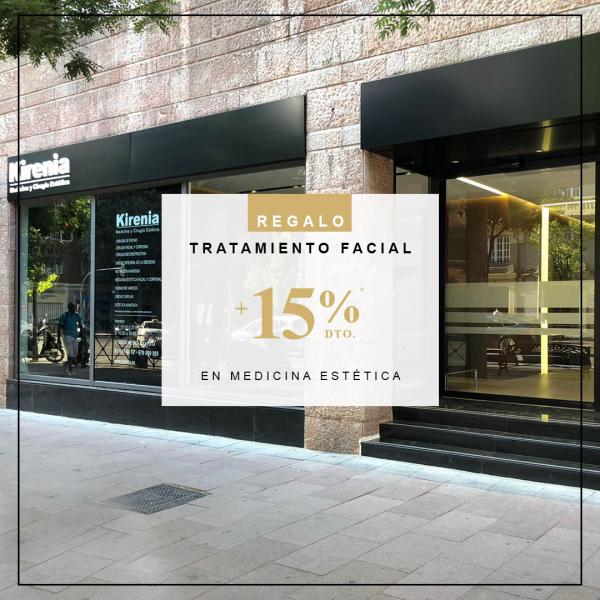 REGALO Tratamiento Facial +15% de descuento en medicina estética