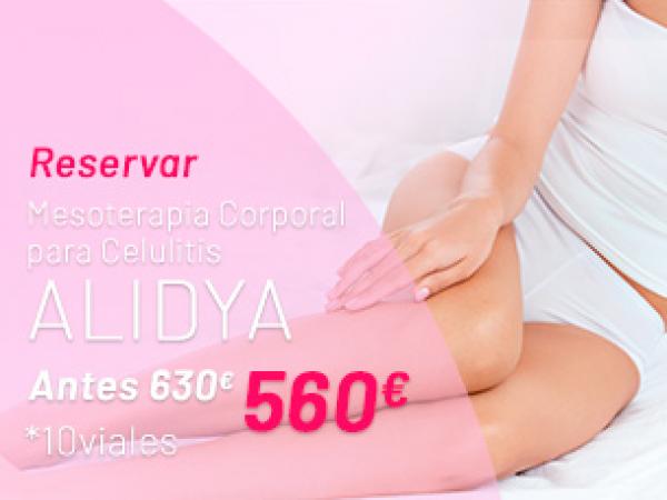 Rebajas Verano: Mesoterapia Corporal Alidya en TodoEstetica.com