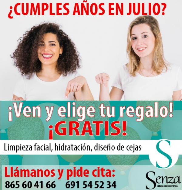¡En Clínica Estética Senza queremos celebrar nuestro aniversario contigo!  en TodoEstetica.com