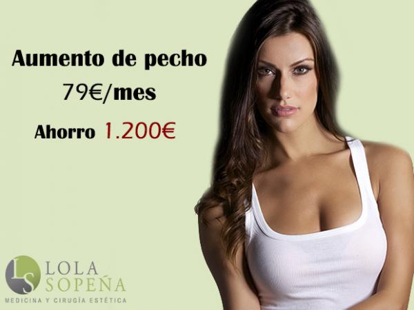 Aumento de pecho con Todo Incluido desde 79€/mes