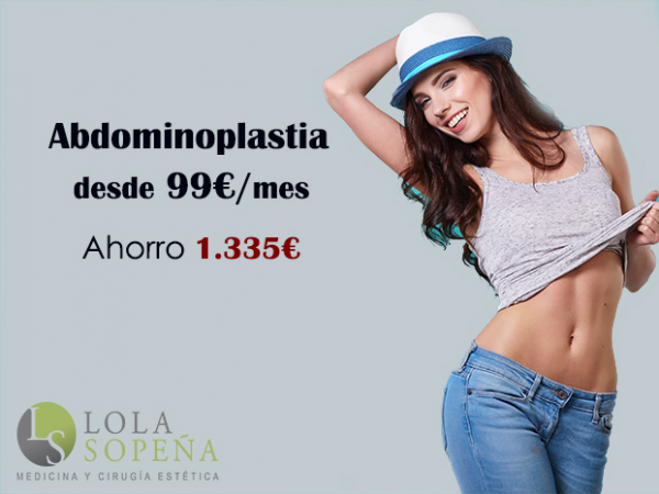 Abdominoplastia desde 99€/mes con Todo Incluido
