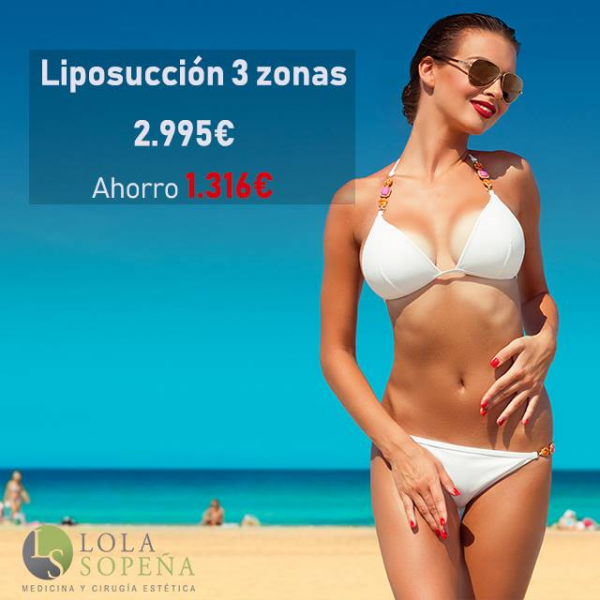 Liposucción (3 zonas) Todo Incluido desde 64€/mes