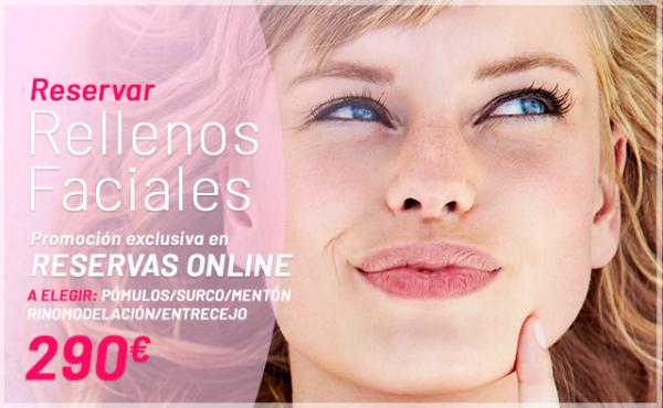 Promoción: Solo Online: Rellenos Faciales