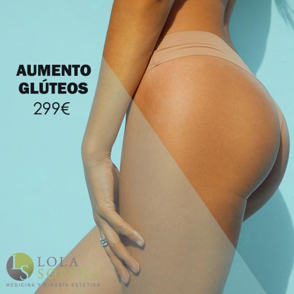 Aumento de glúteos con Ácido Hialurónico 299€ en TodoEstetica.com