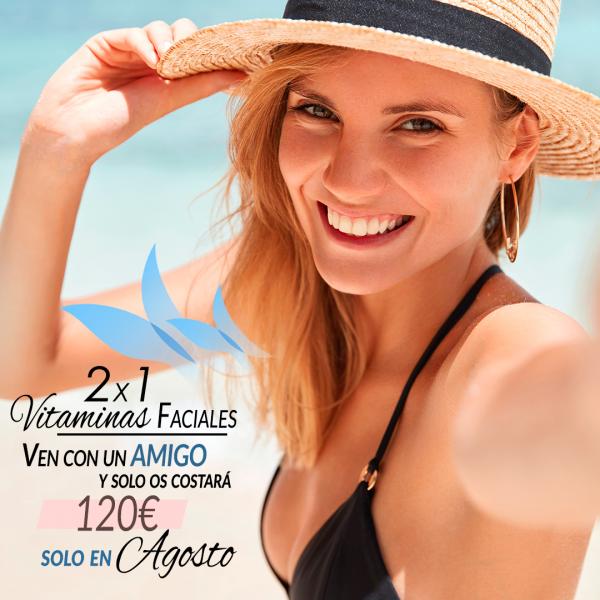 2x1 en Vitaminas faciales por tan solo 120€