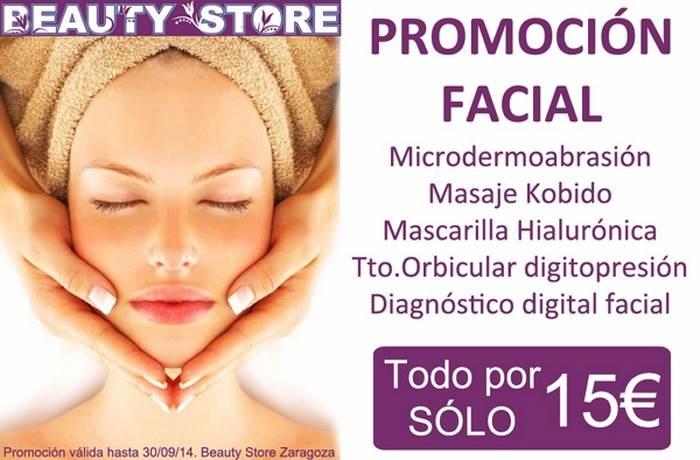 Promoción Tratamiento Facial en TodoEstetica.com
