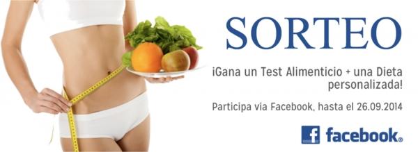 SORTEO ¡Gana un test Alimenticio + una Dieta personalizada! en TodoEstetica.com