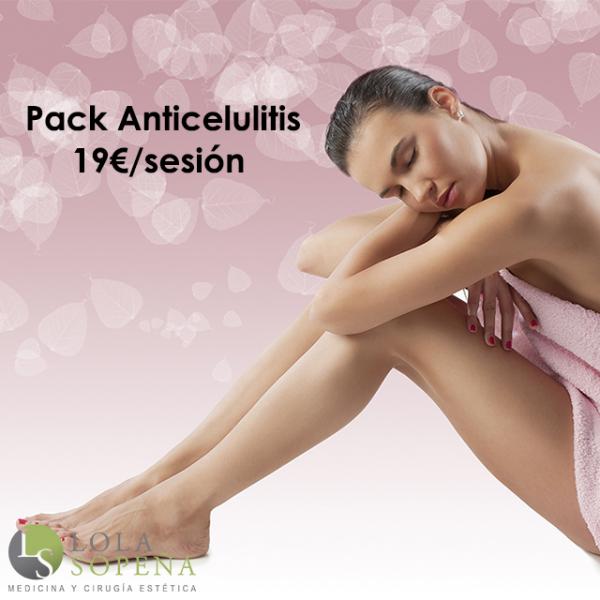 Pack Anticelulitis 19€/sesión en TodoEstetica.com