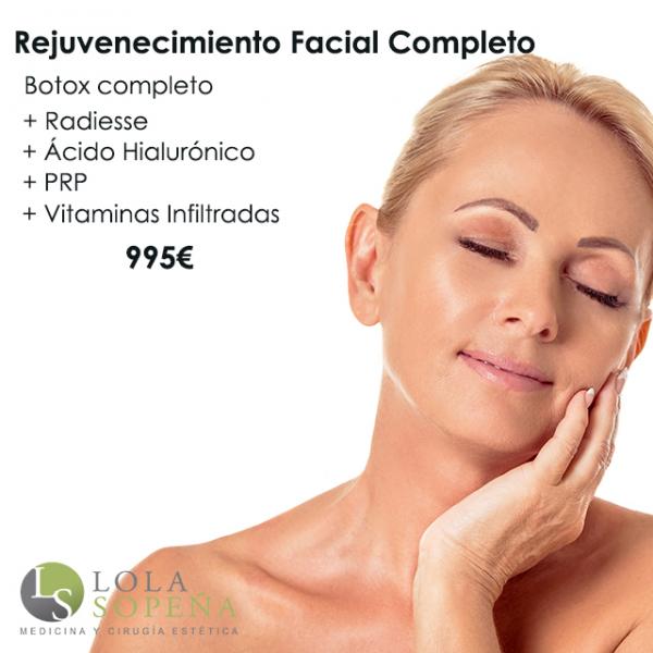 Pack de rejuvenecimiento facial completo  en TodoEstetica.com
