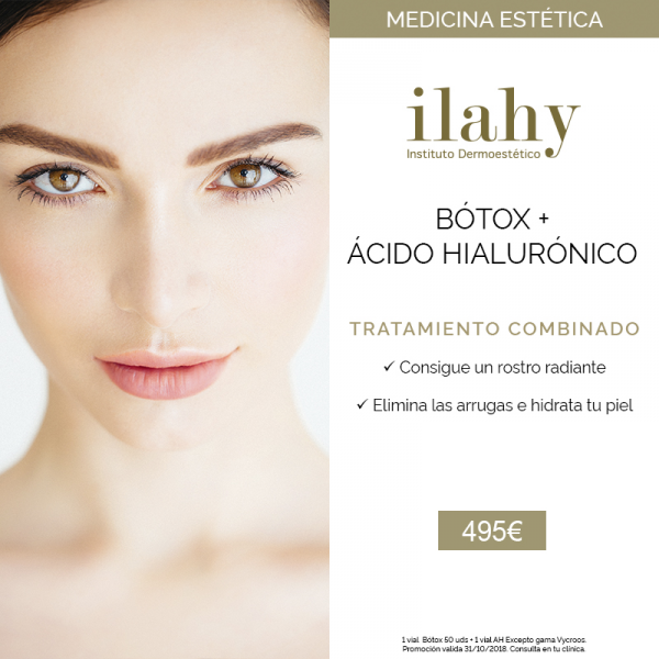 Bótox + Ácido hialurónico en TodoEstetica.com