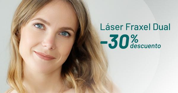 ¡Sólo en Septiembre! -30% Láser Fraxel en TodoEstetica.com