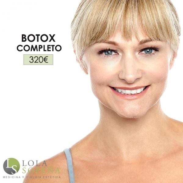 Botox Completo ¡Vistabel máxima duración! 320€ en TodoEstetica.com