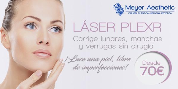 Laser Plexr desde 70 euros en TodoEstetica.com