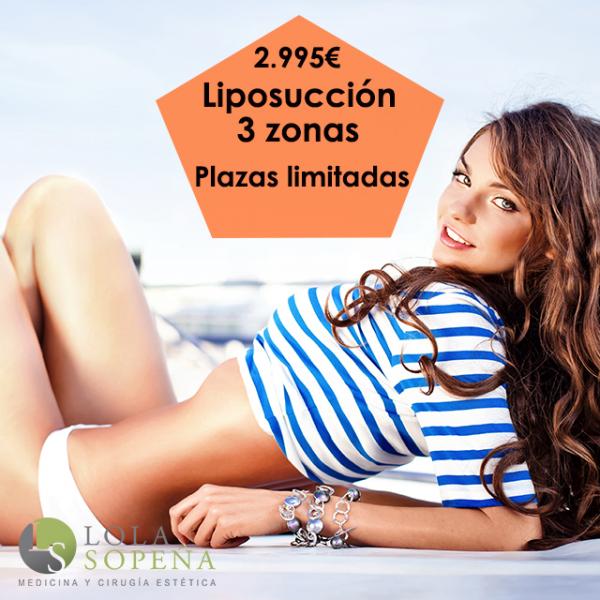 Liposucción 3 zonas 2.995€ ¡Plazas limitadas!