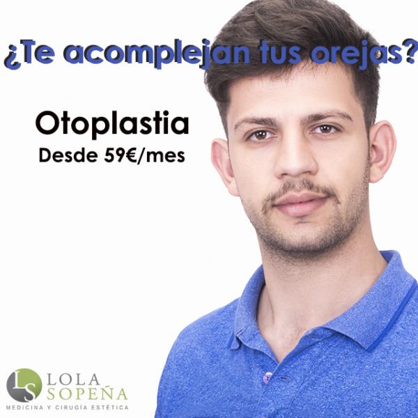 Otoplastia desde 59€/mes en TodoEstetica.com