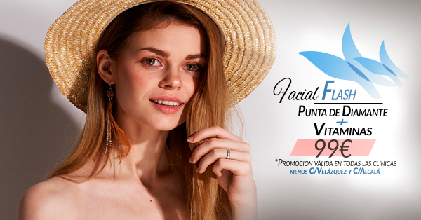 Facial Flash 99€ en TodoEstetica.com