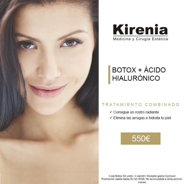 Tratamiento combinado Botox + Ácido Hialurónico  en TodoEstetica.com