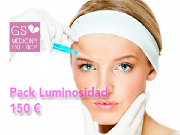 Pack luminosidad 1 sesión de vitaminas +3 de radiofrecuencia 150 euros
