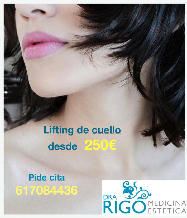 LIFTING CUELLO DESDE 250€