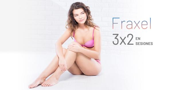 ¡Promo de Octubre! – 3×2 Fraxel en TodoEstetica.com