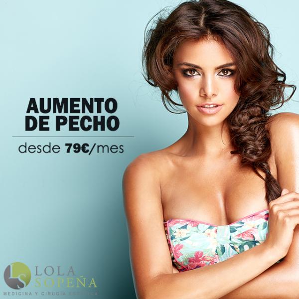 Aumento de pecho desde 79€/mes en TodoEstetica.com