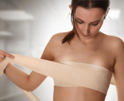 Drenajes y vendas en el postoperatorio de un aumento de mamas